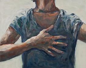Self-portrait -1 2011 oil on canvas 40 x 50 cm