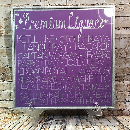 Picture Frame Signs