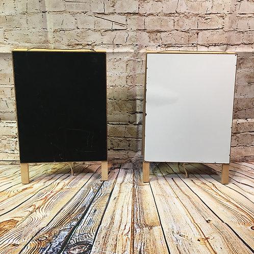 Small Chalkboard/Whiteboard