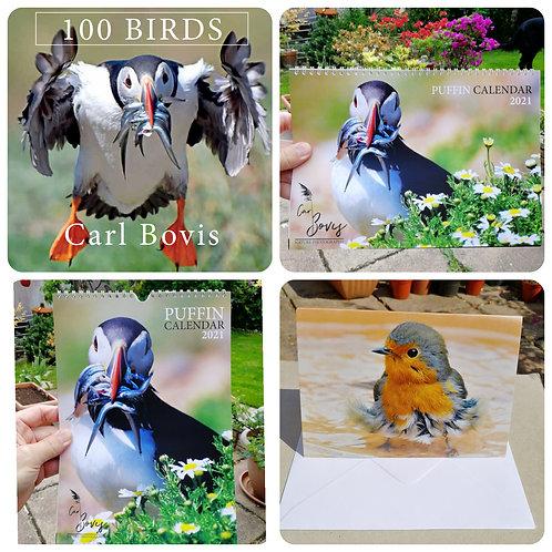 Multi-buy offer - Book, 2x calendars & card