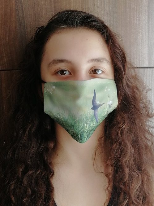 Face Mask - 'Low flying Swift'