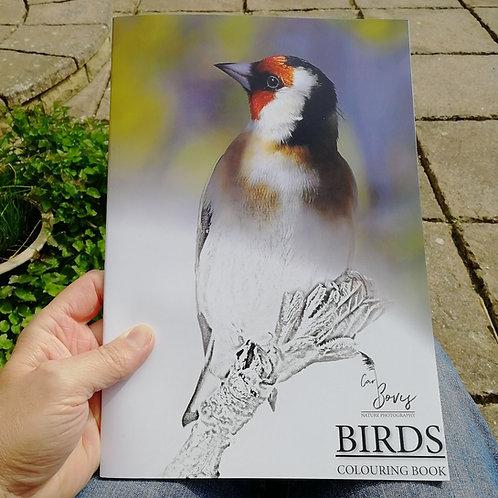 A4 colouring book