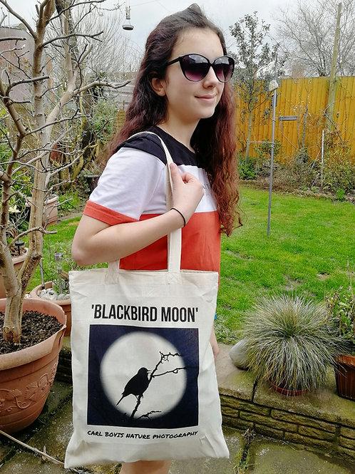 Tote bag - 'Blackbird Moon'