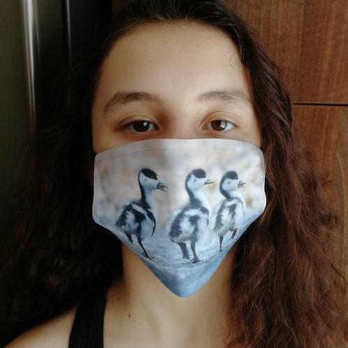 Face mask - 'Shelduck ducklings'
