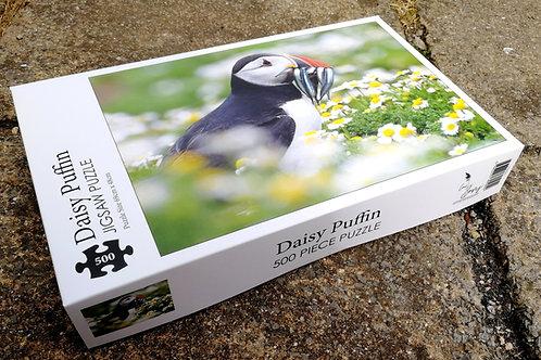 500 piece jigsaw puzzle - Daisy Puffin