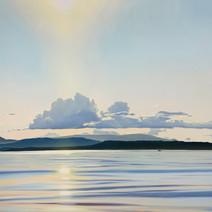 Haro Strait Sunset