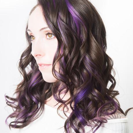 Pop of Purple by Kim