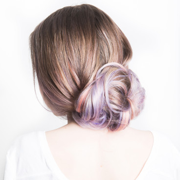 Color and Updo by Cecilia