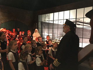 Field Trip to the Titanic Exhibition