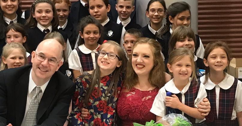 Rachel Barton Pine, Matt Hagle, and Queen of All Saints Academy