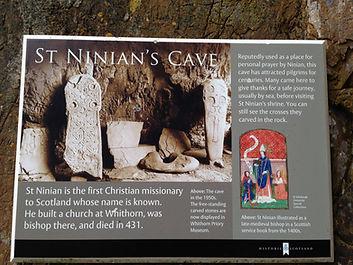 St Ninian's Cave