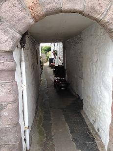 Alleyway Kirkcudbright