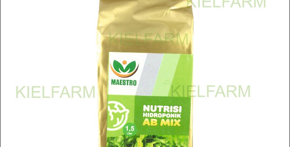 Nutrisi Hidroponik AB Mix Untuk Sayuran Daun (1,5 Lt)