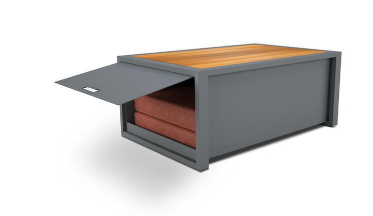 lemma coffee table and storge box 1- woo