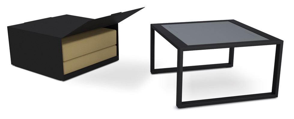 Dodeka- Premise side table and box 3- bl