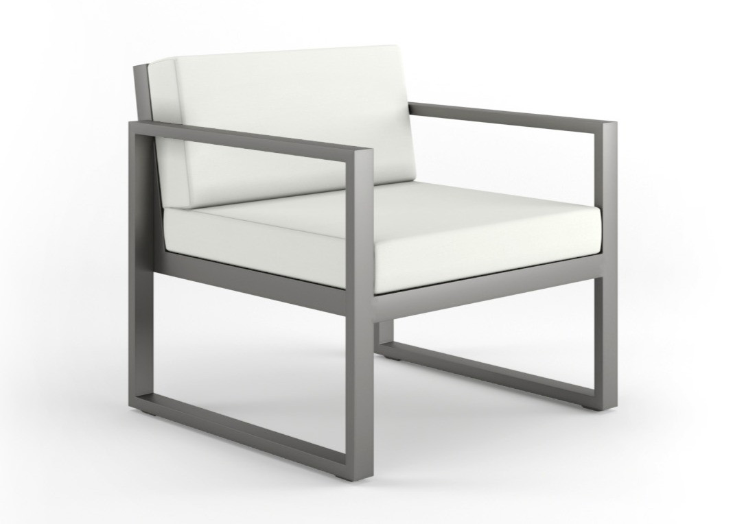 Dodeka- lemma chair- canvas white and qu
