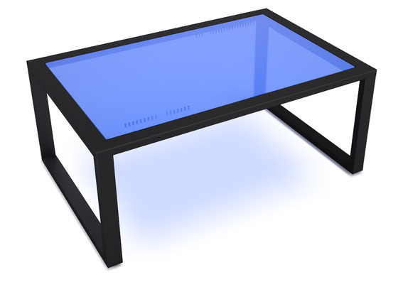 lemma coffee table- 3form and black sand