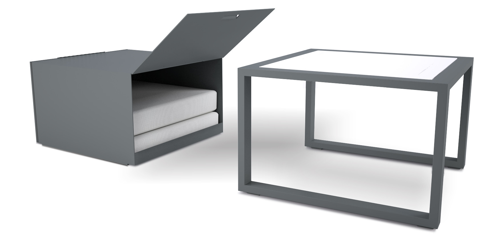 dodeka- lemma side table with box-1- whi