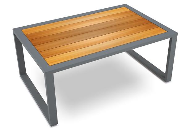 lemma coffee table- wood and galaxy grey