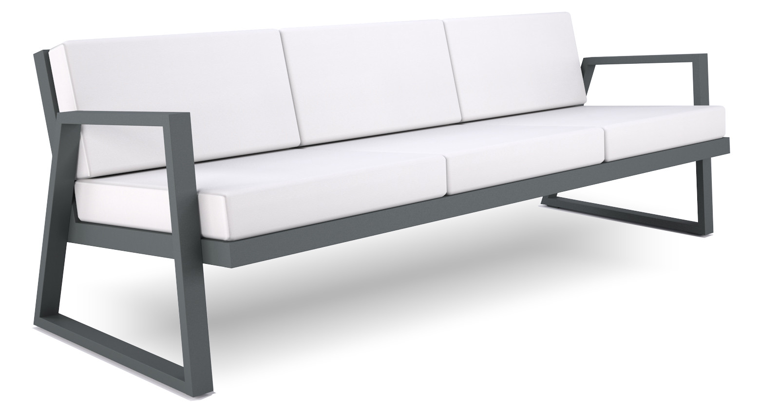 Dodeka- Fugue couch- marble stamskin one