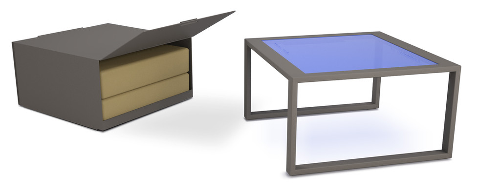 Dodeka- Premise side table and box 3.2-