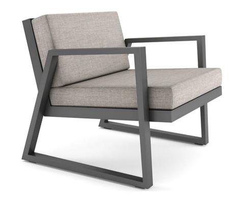 Dodeka- fugue chair- echo ash sunbrella