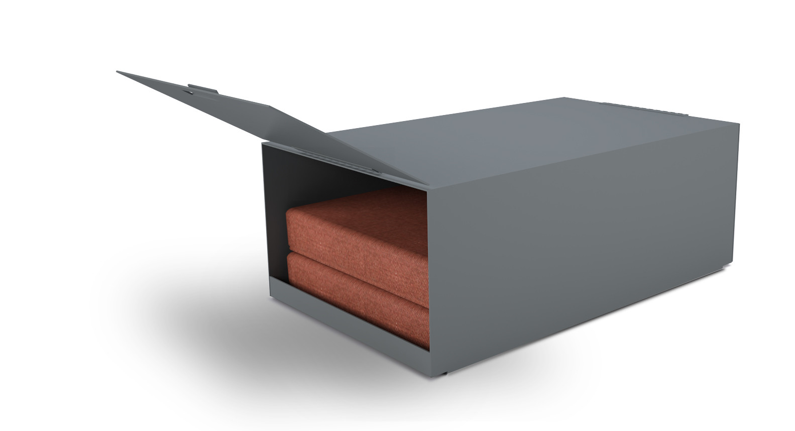 lemma coffee table and storge box- wood
