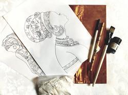 Copper Emboss Art Supplies