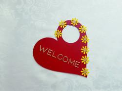 Heart Door Sign