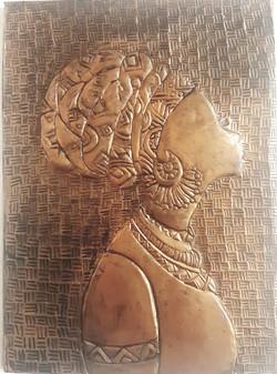 Copper Emboss Art