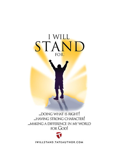 I Will Stand t-shirts