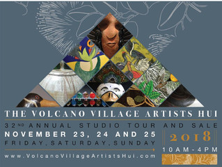 The 32nd Annual Volcano Village Artists Hui Studio Tour and Sale