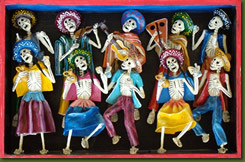 Day of the Dead at Volcano Garden Arts featuring Folk Art of Peru