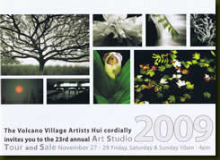 Volcano Village Art Studio Tour & Sale
