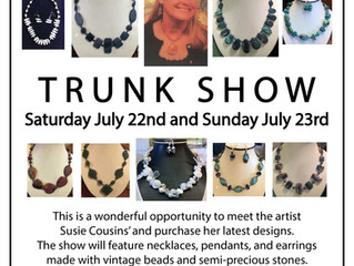 Suzi Cousin's Handmade Jewelry Trunk Show