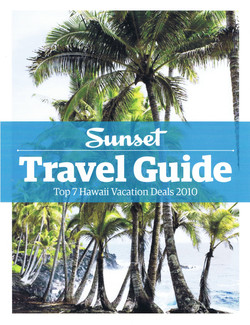 Sunset Travel Guide Cover