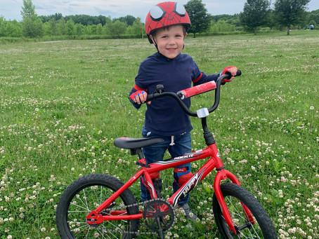 Personal Life: Riding a Bike
