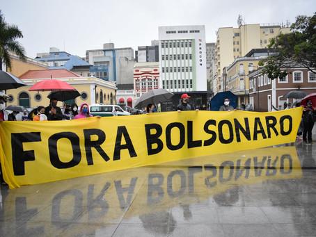 Fetrafi-SC participa do Grito dos Excluídos pedindo #ForaBolsonaro