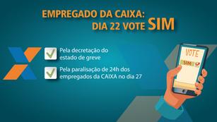 Assembleia virtual da CAIXA delibera sobre estado de greve e paralisação dos empregados