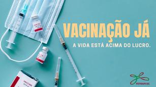 Após orientações do Ministério da Saúde, Fetrafi-SC cobra agilidade na vacinação dos bancários