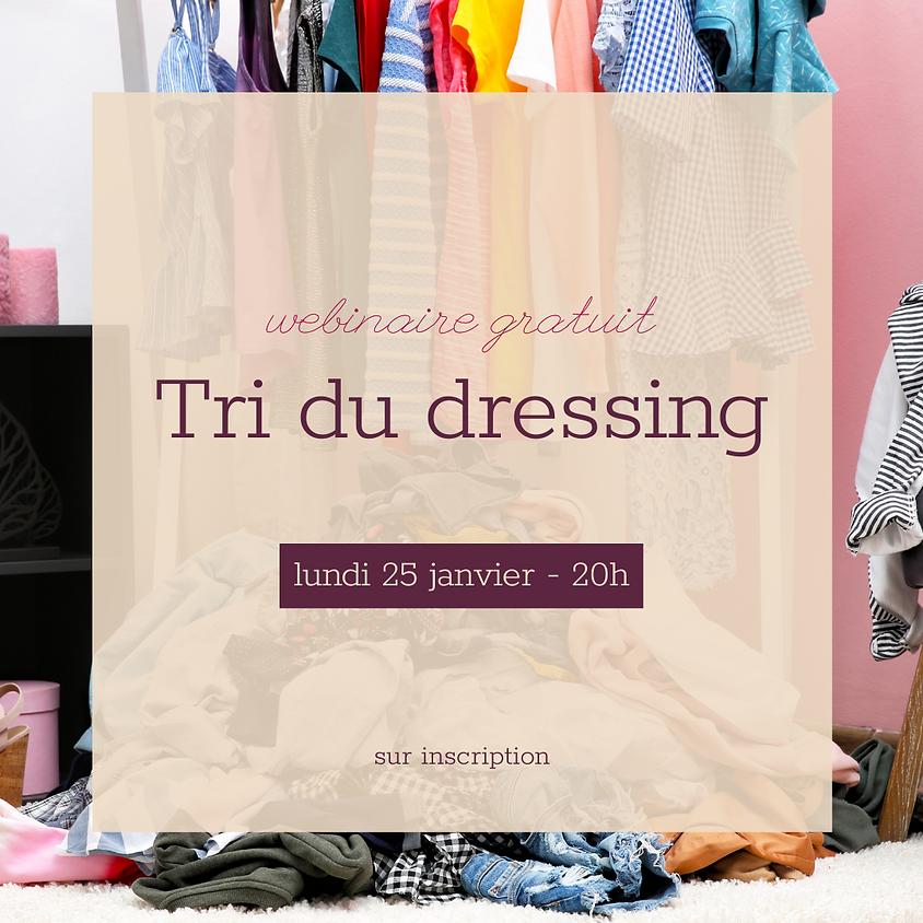 Webminaire gratuit: Tri du dressing