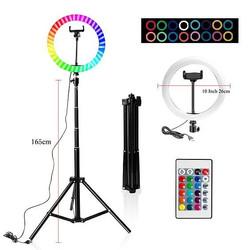 10 Inch Rgb Video Light 16Colors Rgb Rin