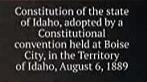 Idaho Constitution