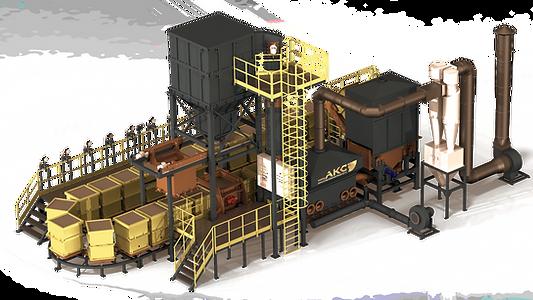ЛГМ Линия формовочная для литья чугуна стали алюминия медь латунь производства Завод АКС