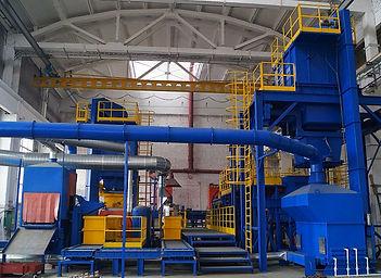 Комплекс оборудования для крупногабаритных отливок