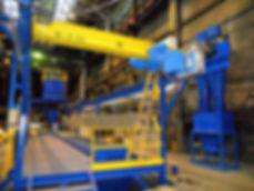 Автоматизированный комплекс для крупногабаритных отливок