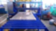 Станок для резки плит из алюминиевых сплавов