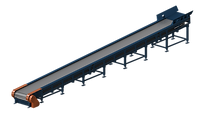 Конвейер пластинчатый АКС ЛГМ литейная формовочная линия