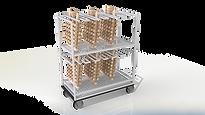 Тележка для модельных блоков тип АКС ЛГМ полистирол литейная формовочная линия
