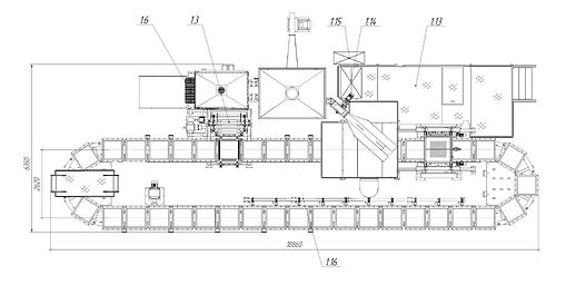 ЛГМ Линия автоматизированная для производства отливок из стали чугуна меди латунь алюминий производства Завод АКС
